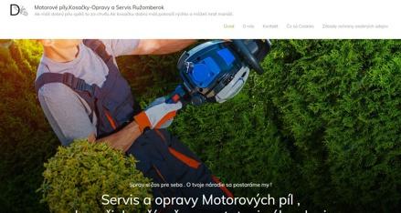 Motorové píly Servis a oprava Odkaz